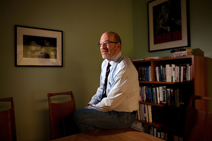 Craig Gurian, an attorney from The Anti-Discrimination Center who brought a fair housing lawsuit against Westchester County, in his office in New York, NY on October 23, 2012.