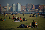 New York City Near record breaking temperatures