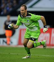 FUSSBALL   1. BUNDESLIGA   SAISON 2011/2012    11. SPIELTAG FC Schalke 04 - 1899 Hoffenheim                            29.10.2011 Torwart Tom STARKE (Hoffenheim)