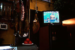 August 2004 - Spain, Andalusia, Sevilla. Olympics on TV.