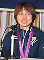 Silver Medalists from Japanese Women Table Tennis Team Attends a Press Conference at FCCJ