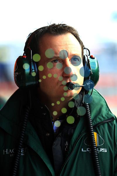 F1 Test 4, Barcelona Spain  25. - 28. February 2010.Gianluca Pisanello (ITA) Lotus Racing..Picture: Hasan Bratic/Universal News And Sport - 27/02/2010.