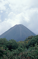 Izalco Volcano in Cerro Verde National Park, El Salvador, Central America. Thsi active volcano is sometimes called The Lighthouse of the Pacific.