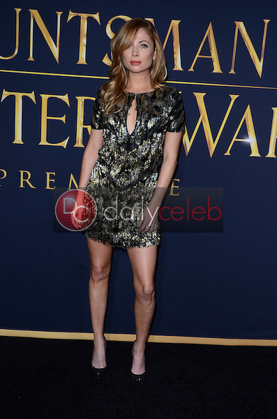 Malea Rose<br /> at the &quot;The Huntsman Winter's War&quot; American Premiere, Village Theater, Westwood, CA 04-11-16<br /> David Edwards/Dailyceleb.com 818-249-4998
