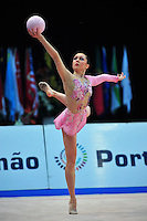 Silviya Miteva of Bulgaria performs at 2011 World Cup at Portimao, Portugal on May 01, 2011.  .