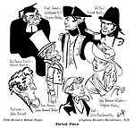 Captain Horatio Hornblower , RN ; Gregory Peck , Virginia Mayo  and Robert Beatty ...Tom Brown ' s School Days ; John Charlesworth John Forrest , John Howard Davies and Robert Newton