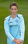 St Johnstone FC Season 2012-13 Photocall.Ally Gilchrist.Picture by Graeme Hart..Copyright Perthshire Picture Agency.Tel: 01738 623350  Mobile: 07990 594431