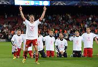 Fussball Champions League 2012/13: FC Barcelona - FC Bayern Muenchen