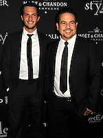 NEW YORK CITY, NY, USA - SEPTEMBER 18: Thomas Tolan and Narciso Rodriguez arrive at the 2014 Icons Of Style Gala Hosted By Vanidades held at the Mandarin Oriental Hotel on September 18, 2014 in New York City, New York, United States. (Photo by Celebrity Monitor)