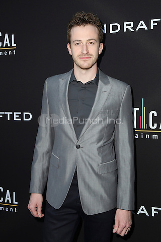 HOLLYWOOD, CA - JULY 11: Joe Mazzello at the premiere of Undrafted at the Arclight in Hollywood, California on July 11, 2016. Credit: David Edwards/MediaPunch