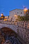 Main Street Bridge in Menomonee Falls Wisconsin HDR