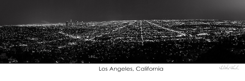 Black and White Los Angeles