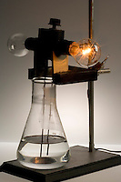 SODIUM CHLORINE REACTION RESULTS IN AN ELECTROLYTE<br />