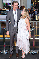 HOLLYWOOD, LOS ANGELES, CA, USA - SEPTEMBER 15: Dax Shepard, Kristen Bell arrive at the Los Angeles Premiere Of Warner Bros. Pictures' 'This Is Where I Leave You' held at the TCL Chinese Theatre on September 15, 2014 in Hollywood, Los Angeles, California, United States. (Photo by Xavier Collin/Celebrity Monitor)