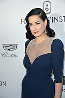 LOS ANGELES, CA. October 27, 2016: Dita Von Teese at the 2016 amfAR Inspiration Gala at Milk Studios, Los Angeles.<br /> Picture: Paul Smith/Featureflash/SilverHub 0208 004 5359/ 07711 972644 Editors@silverhubmedia.com
