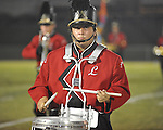 Lafayette High band member Chris Walters vs. Shannon in Oxford, Miss. on Friday, September 14, 2012. Lafayette won 44-25 over Shannon to improve to 4-1.
