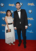 Dan Trachtenberg &amp; Wife at the 69th Annual Directors Guild of America Awards (DGA Awards) at the Beverly Hilton Hotel, Beverly Hills, USA 4th February  2017<br /> Picture: Paul Smith/Featureflash/SilverHub 0208 004 5359 sales@silverhubmedia.com