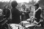 Dame Elizabeth Marvyn Charity. Ufton Court, Ufton Nervet, 	Berkshire 1974. . The dole is given to all residents who attend when they are 	called, one loaf of bread per head to each home of an agricultural 	worker, and one loaf to each other home in the parish. About one 	hundred and fifty loaves of bread are distributed.