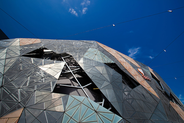 SBS office in Alfred Deakin building at Federation Square, Melbourne