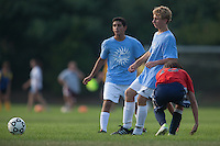 2012 Gloucester County Summer Soccer League: Washington Township High School D vs. Saint Augustine Prep B at New Street Park in Glassboro, NJ on Thursday July 26, 2012. (photo / Mat Boyle)