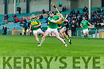 Kerry in action against  Limerick in the Munster Hurling League Round 4 at the Gaelic Grounds, Limerick on Sunday.