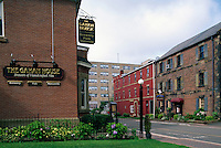 Charlottetown, PEI, Prince Edward Island, Canada - Gahan House Brewery Pub and Shops in the Historic District