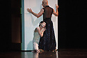 San Francisco Ballet presents Program C, a mixed bill of four pieces, at Sadler's Wells. This piece is:  Raku, by Yuri Possokhov. Dancers in this piece are: Yuan Yuan Tan, Damian Smith, Pascal Molat.