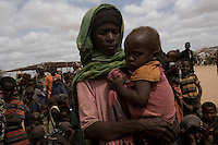 Kenya - Dadaab - Medina Ali, a 30 year old Somali refugee.
