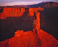 Castle Rock and La Sal Mountains, Proposed La Sal Waters Wilderness, Utah