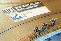 Picture by Alex Whitehead/SWpix.com - 04/03/2017 - Cycling - UCI Para-cycling Track World Championships - Velo Sports Center, Los Angeles, USA - Women's Scratch race.