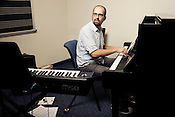 Tim Hambourger, Director of the Duke New Music Esemble, Durham, North Carolina, Monday, Nov. 5, 2012. .