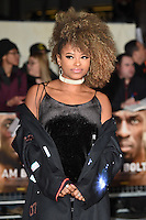 LONDON, UK. November 28, 2016: Fleur East at the &quot;I Am Bolt&quot; World Premiere at the Odeon Leicester Square, London.<br /> Picture: Steve Vas/Featureflash/SilverHub 0208 004 5359/ 07711 972644 Editors@silverhubmedia.com