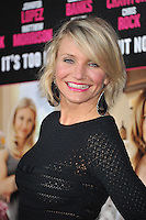 Actress Cameron Diaz arrives at the premiere of 'What To Expect When You're Expecting' held at Grauman's Chinese Theatre in Hollywood.