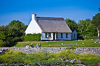 Thatched holiday cottage in Ballyvaughan, County Clare, West of Ireland