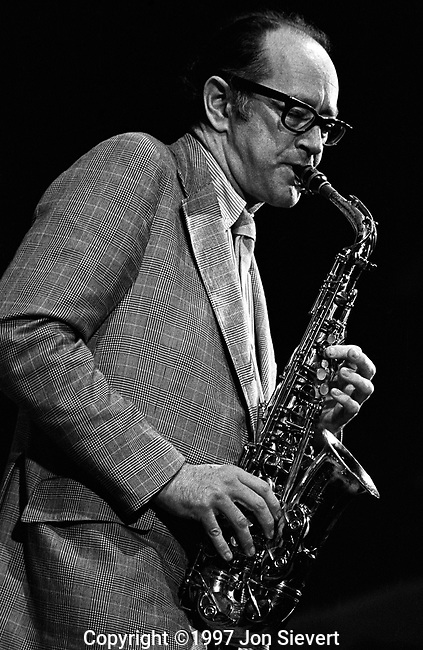 "Paul Desmond, 9/19/75, Monterey Jazz Festival, 17-16-33. jazz alto saxophonist and composer born in San Francisco, best known for the work he did in the Dave Brubeck Quartet and for penning that group's greatest hit, ""Take Five"". Known to have possessed an idiosyncratic wit, he was one of the most popular musicians to come out of the West Coast's ""cool jazz"" scene."