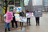 Resist Trump Chicago, Illinois 1-20-17
