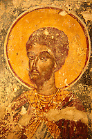 Fresco from Ayios Stefanos, Paliachora,  Aegina, Greek Saronic Islands