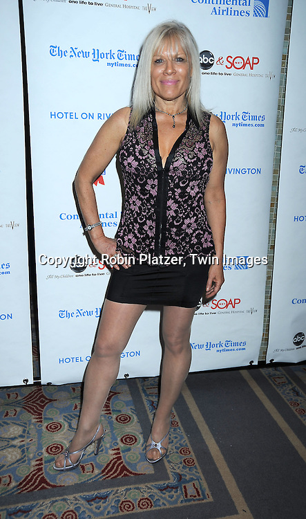 actress Ilene Kristen of One Life to Live attending The 6th Annual ABC And SOAPnet salute to BROADWAY CARES/ EQUITY FIGHTS AIDS Benefit post party on March 21, 2010 at The Marriott Marquis Hotel in New York City.