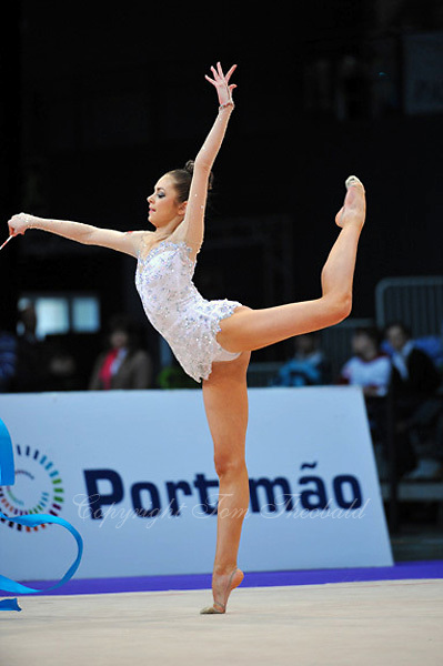 Mariya Mateva of Bulgaria performs at 2010 World Cup at Portimao, Portugal on March 13, 2010.  (Photo by Tom Theobald).