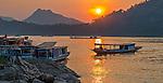 Mekong River, Luang Prabang Province, Laos