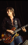 ALVIN LEE live at Reading Rock Festival 1983, London England.<br />
