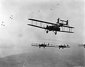 World War 1 version of the B-2 in flight - date unknown..Credit: U.S. Air Force via CNP