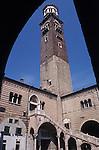 Torre dei Lamberti, Verona, Italy, Europe