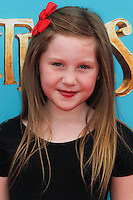 UNIVERSAL CITY, CA, USA - SEPTEMBER 21: Ella Anderson arrives at the Los Angeles Premiere Of Focus Features' 'The Boxtrolls' held at Universal CityWalk on September 21, 2014 in Universal City, California, United States. (Photo by Celebrity Monitor)