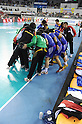 Japan team group (JPN), NOVEMBER 2, 2011 - Handball : during the Asian Men's Qualification for the London 2012 Olympic Games final match between South Korea 26-21 Japan in Seoul, South Korea.  (Photo by Takahisa Hirano/AFLO)