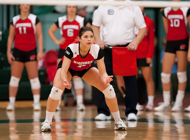 Wisconsin Volleyball at Michigan State