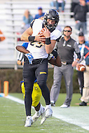 Newark, DE - October 29, 2016: Towson Tigers wide receiver Christian Summers (25) makes a catch during game between Towson and Delware at  Delaware Stadium in Newark, DE.  (Photo by Elliott Brown/Media Images International)