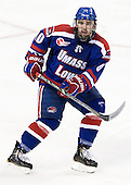 Ryan McGrath (UML - 10) - The Boston College Eagles defeated the visiting University of Massachusetts Lowell River Hawks 6-3 on Sunday, October 28, 2012, at Kelley Rink in Conte Forum in Chestnut Hill, Massachusetts.