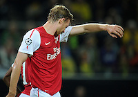 FUSSBALL   CHAMPIONS LEAGUE   SAISON 2011/2012  Borussia Dortmund - Arsenal London        13.09.2001 Per MERTESACKER (Arsenal Arsenal)