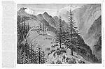 British fighting in the mountains of  Afghanistan 1879  Harper's Weekley 2, 1879.